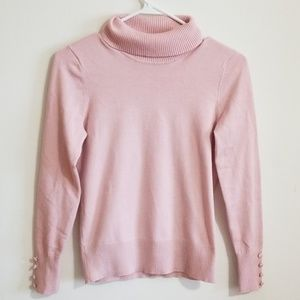 Turtleneck long sleeved sweater